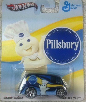 Mattel Hot Pop Culture General Mills Quick Dlivery Pillsbury