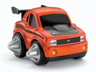Fisher-Price Rev ,N Go Stunt Muscle Car(Orange)