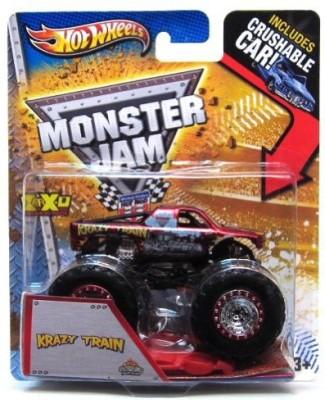 Hot Wheels Monster Jam Maximum Destruction Krazy Train
