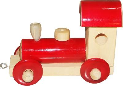 ZoneMart Wooden Rail Engine
