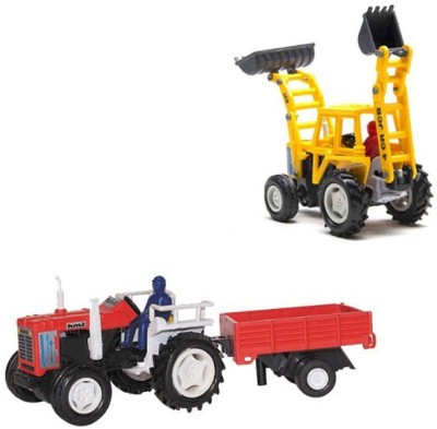 A R ENTERPRISES CENTY VEHICLES COMBO OF TWO- TRACTOR AND BULDOZER