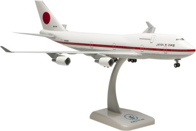 Hogan Wings Japan Self Defense, Boeing 747-400, Scale 1:200 (with Landing Gear)