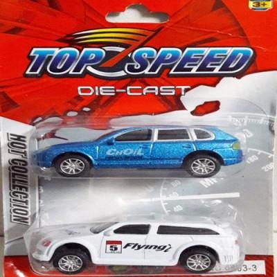 AQUARAS Top Speed Die Cast Set of 2 Cars