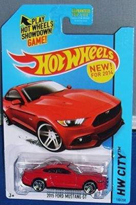 Hot Wheels 2014 Hw City 2015 Ford Mustang Gt [Ships In A Box]