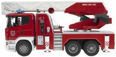 Bruder Scania R- Series Fire Engine With Water Pump