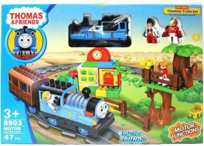Lotus Thomas Train Set Building Blocks With home