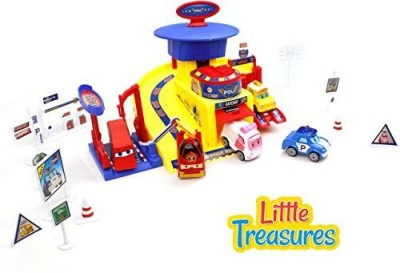 Little Treasures The Transformable Robot - Track Series