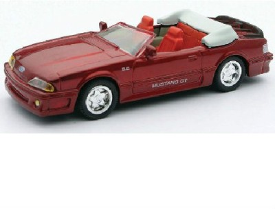 New-Ray 1989 Ford Mustang Gt Convertible Die-Cast Scale Model Car