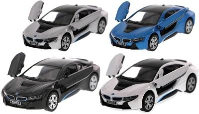 Kinsmart Pack of 4 BMW i8