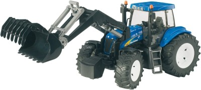 Bruder New Holland Tractor With Front Loader