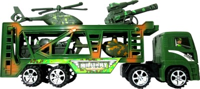 WebKreature Military Vehicle Carrier Trailer