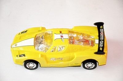 Ruppiee Shoppiee Super Speed Racing Car Yellow