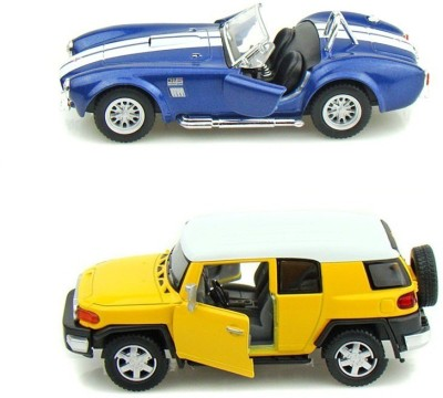 Kinsmart Toyota FJ Cruiser and Shelby Cobra Mini Models