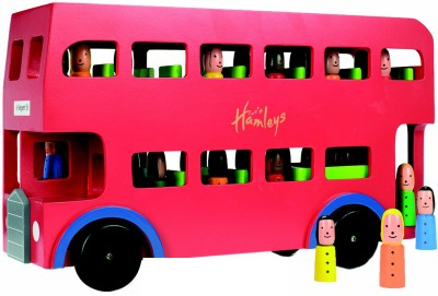 Hamleys London Bus and People - FSC