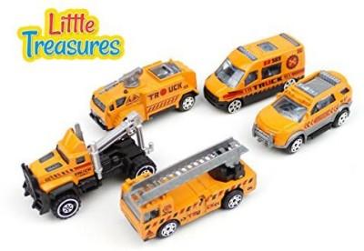 Little Treasures Attractive Toy Set Of Five Model Vehicles