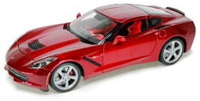 Maisto Power Kruzerz 4.5 inch Pull Back Action - Corvette Stingray 2014 Diecast Model Car