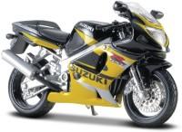 Maisto Suzuki GSX R600(Black, Yellow)