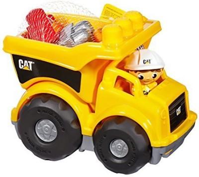 Mega Bloks Caterpillar Lil, Dump Truck