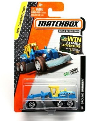 Matchbox Ground Grinder  2014 Mbx Construction 164 Scale