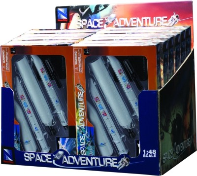 New-Ray Rocket 5 Model Kit Display Box Kids Space Toy