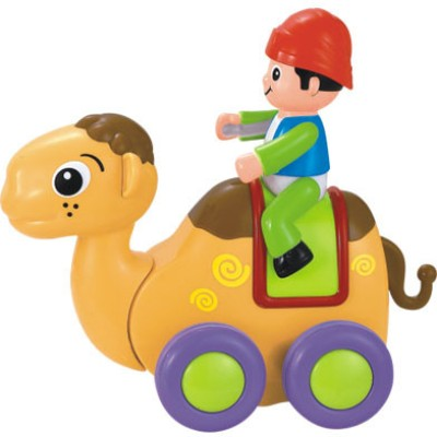 Huile Toys Friction Powered Camel with Four Wheels