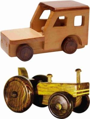 EcoJoy Mulio Tractor & Road Racer Jeep