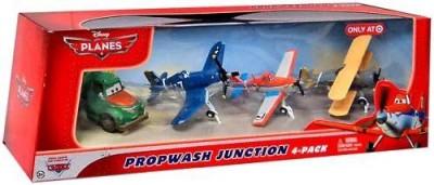 Disney Pixar Planes Exclusive 155 Die Cast 4Pack Propwash Junction