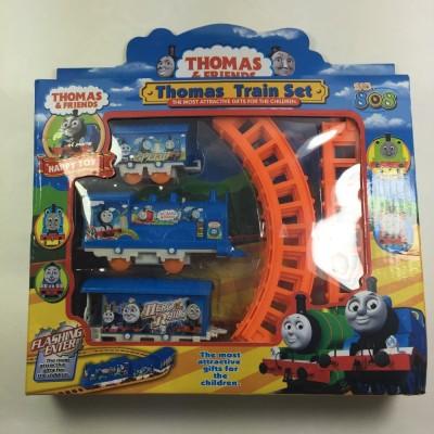 Neha Thomas and Friends Big Train Set with 24 Pcs