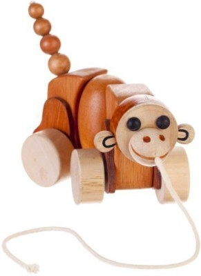 Bead Bazaar Max the Monkey Pull Toys