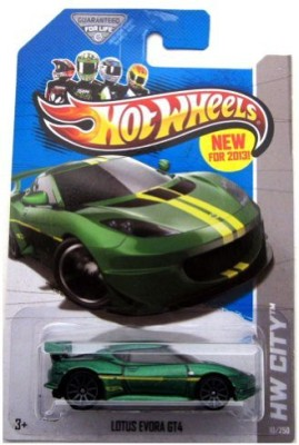 Hot Wheels 2013 Hw City Lotus Evora Gt4