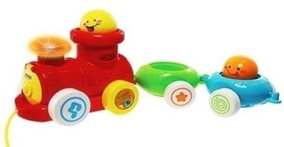 Winfun Pull Along Stacking Choo Choo