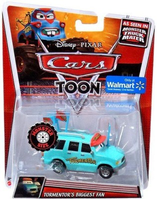 Pixar 2013 Disney Cars Toon Deluxe Tormentor,S Biggest Fan Walmart