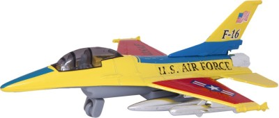 Baby Steps Die-Cast Metal Fly Tiger F-16 Plane