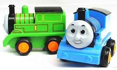 Mayatra's Cute Little Play Toy Train Engine with Friction Forward and Reverse Movement(Multicolor)
