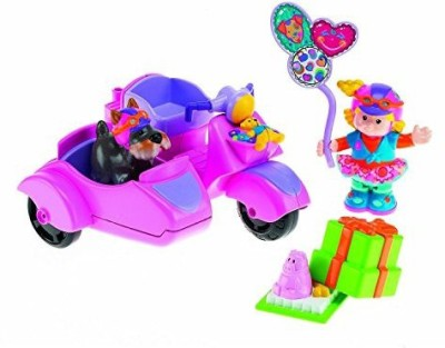 Fisher-Price Little People Sarah Lynn & Her Scooter