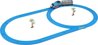 Emob Electric Toy Train With Track Set And Amazing Sound