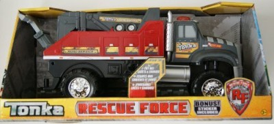 Tonka Rescue Force Towing Service Truck
