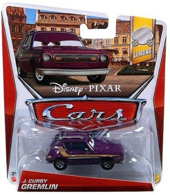 Disney Pixar CARS Movie 1:55 Die Cast Car J. Curby Gremlin