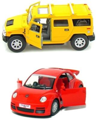 Kinsmart New Beetle Rsi And Hummer H2