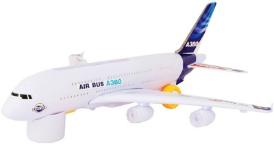 TOYBAZAAR Airbus Airplane Toy With Lights & Music