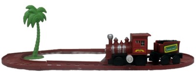 Surya Mini Train Toy With Track Operated without Battery