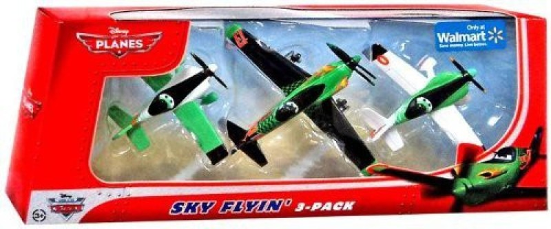 Disney Planes Exclusive 155 Die Cast 3Pack Sky Flyin'(Green)