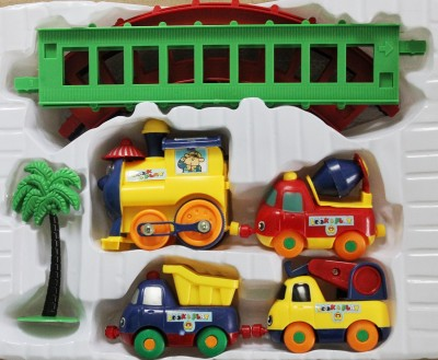 New Pinch Play Train Set For Kids( Color May Very)