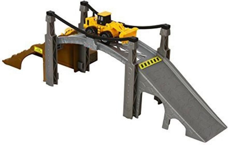 Toystate State Caterpillar Construction Playset Bridge Builder(Grey)