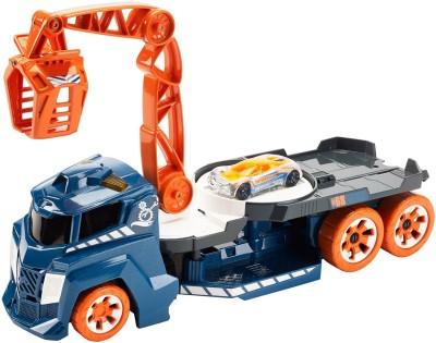 Mattel Hot Wheels Spinning Sound Crane Vehicle