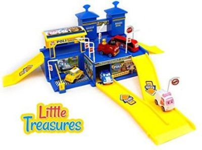 Little Treasures Robot City Shopping Center Playing Toy