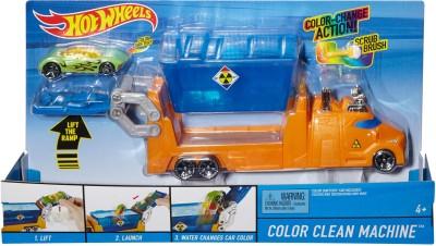 Hotwheels Color Clean Machine
