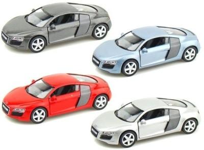A2B Kinsmart Die-Cast Metal Audi R8(Combo Set-4)