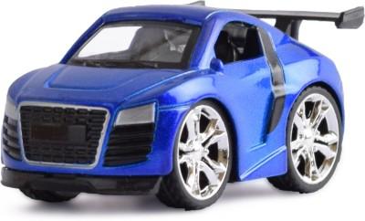 Ochre Blue Die Cast Pull Back Alloy Body car