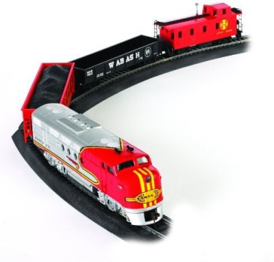 Bachmann Trains Santa Fe Flyer Readytorun Ho Scale Train Set